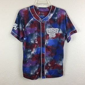 Boy's Nike Dri-Fit Multi-Colored Baseball Shirt